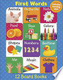 First Words 12 Mini Board Books