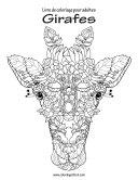 Livre de coloriage pour adultes Girafes 1