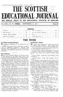 The Scottish Educational Journal
