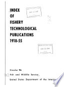 Index of Fishery Technological Publications