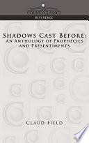 Shadows Cast Before Book