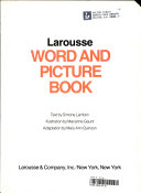 Larousse Word and Picture Book