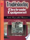 Troubleshooting Electronic Equ Book