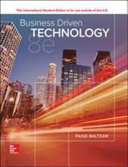 Ise Business Driven Technology Book