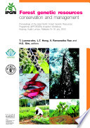 Forest Genetic Resources Conservation And Management Book PDF