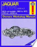 Jaguar E-Type Owner's Workshop Manual