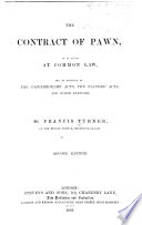 The Contract of Pawn Book
