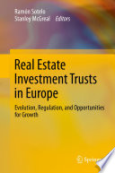 Real Estate Investment Trusts in Europe Book