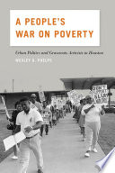 A People S War On Poverty Book PDF