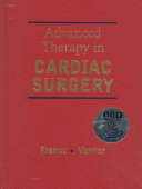 Advanced Therapy In Cardiac Surgery Book PDF