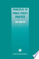 Principles of Public Policy Practice