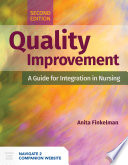 Quality Improvement A Guide For Integration In Nursing