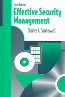 Effective Security Management Book