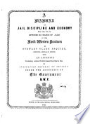 A Manual of Jail Discipline and Economy Book
