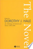 The Novel, An Anthology of Criticism and Theory 1900-2000 by Dorothy J. Hale PDF