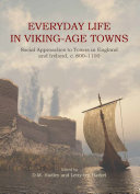 Pdf Everyday Life in Viking-Age Towns Telecharger