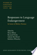 Read Online Responses to Language Endangerment For Free