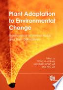 Plant Adaptation to Environmental Change