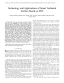 Technology and applications of Smart Technical Textiles Based on POF
