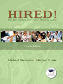 Hired! the Job Hunting and Career Planning Guide + New Mystudentsuccesslab Update Access Card