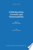 Globalization  Growth and Sustainability