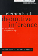 Elements of Deductive Inference