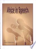 The Voice In Speech