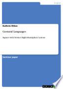 Gestural Languages