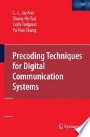 Precoding Techniques for Digital Communication Systems