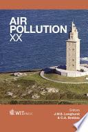 Air Pollution XX Book