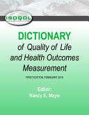 Isoqol Dictionary of Quality of Life and Health Outcomes Measurement Book
