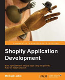Shopify Application Development Pdf/ePub eBook