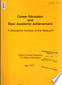 Career Education and Basic Academic Achievement
