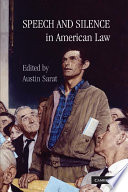 Speech and Silence in American Law Book