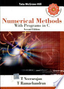 Numerical Methods  With Programs In C Book