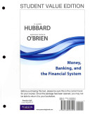 Money, Banking and the Financial System, Student Value Edition