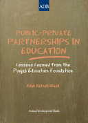 Public-Private Partnerships in Education