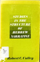 Studies in the Structure of Hebrew Narrative