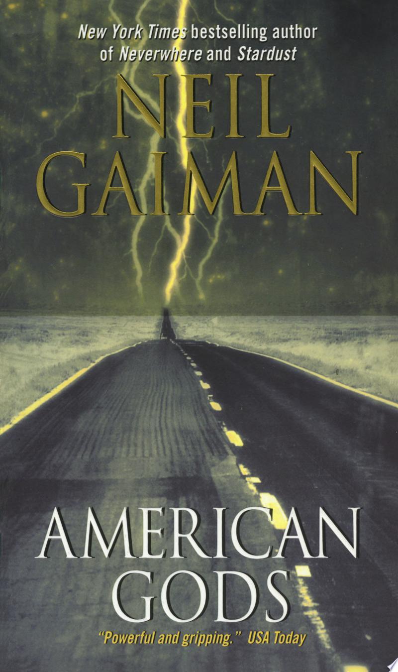 American Gods banner backdrop