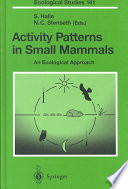 Activity Patterns In Small Mammals Book PDF