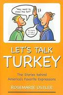 Let s Talk Turkey