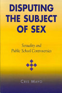 Disputing the Subject of Sex