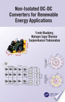 Non-Isolated DC-DC Converters for Renewable Energy Applications