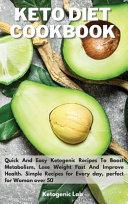 Keto Diet Cookbook Book