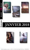 10 romans Black Rose (no458 à 462 - Janvier 2018)