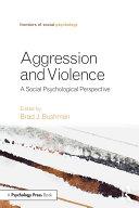 Aggression and Violence [Pdf/ePub] eBook
