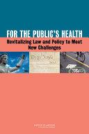 For the Public's Health Pdf/ePub eBook