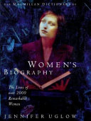 The Macmillan Dictionary of Women s Biography