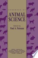 Handbook of Animal Science