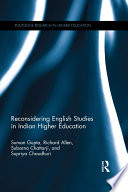 Reconsidering English Studies in Indian Higher Education